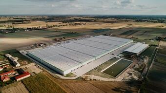 Panattoni Europe has built a record-breaking big box in Poland – 123,300 sqm at ground level for Leroy Merlin