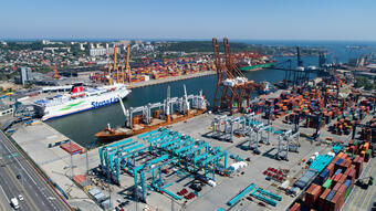 Another Investment at the Western Part of the Port of Gdynia