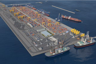 The Port of Gdynia is the only one with an increase in 2020. It starts with a new investment