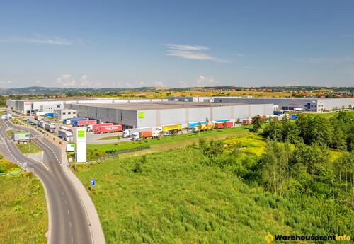 Warehouses to let in Goodman Kraków Airport Logistics Centre