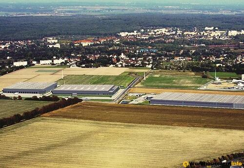 Warehouses to let in SEGRO Business Park GLIWICE