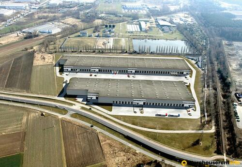 Warehouses to let in SEGRO Industrial Park TYCHY 2