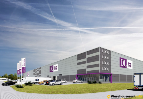 Warehouses to let in DL INVEST PARK DĄBROWA GÓRNICZA