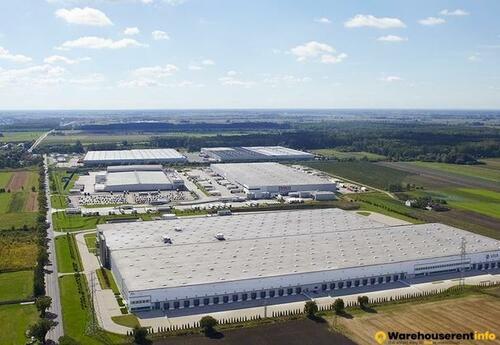 Warehouses to let in Prologis Park Teresin DC2A