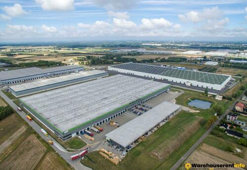 Warehouses to let in Logicor Strykow 1