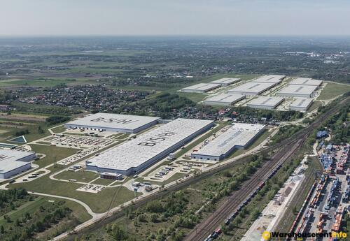 Warehouses to let in Central European Logistics Hub CELH IX