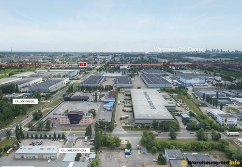 Warehouses to let in Panattoni City Logistics Warsaw II
