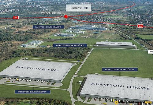 Warehouses to let in Panattoni Park Krakow 2